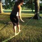 Slack Line Dance Party