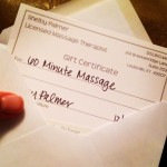 Giveaway! 60 Minute Massage
