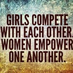 Bitching, Comparing & Hating. Overcoming the need to be negative toward other females.