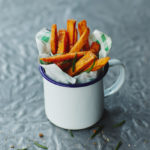 Recipe: Sweet Potato Fries. And a meal for your week!