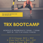 TRX Bootcamp in Canmore!