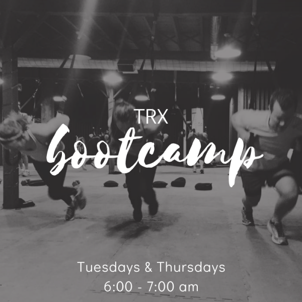 TRX Bootcamp: A 4 week TRX fitness program with TRX Master Instructor Ami McMullen